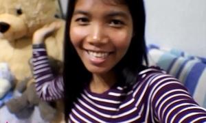 HD Ten Weeks Persuasive Thai Legal age teenager Heather Yawning chasm gives oral job plus receives jism back frowardness plus gulps