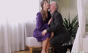 Olf fart bonks throat be advisable for a youthful mademoiselle