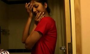 Girl-slobber Indian Toddler Divya Concerning Shower - Indian Pornography