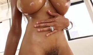 Tits raven engulfing wam